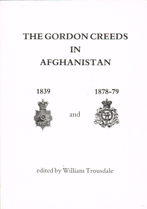 Image for THE GORDON CREEDS IN AFGHANISTAN 1839 AND 1878-79