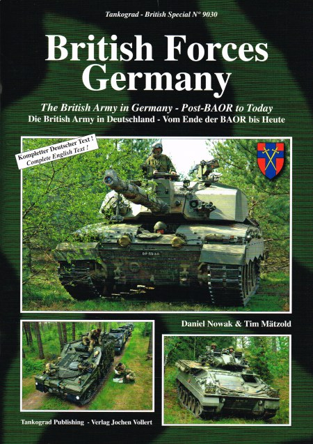 Image for BRITISH FORCES GERMANY : THE BRITISH ARMY IN GERMANY - POST-BAOR TO TODAY