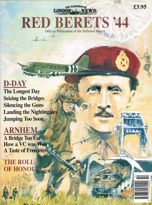 Image for RED BERETS '44 (OFFICIAL PUBLICATION OF THE AIRBORNE FORCES)