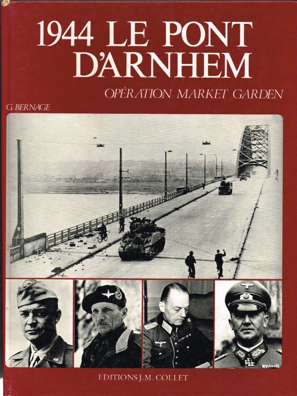Image for 1944 LE PONT D'ARNHEM - OPERATION MARKET GARDEN (FRENCH TEXT)