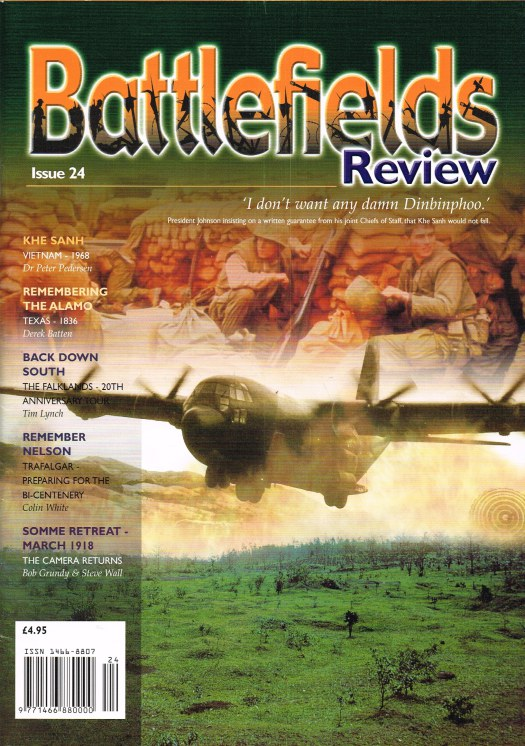 Image for BATTLEFIELDS REVIEW ISSUE NO.24