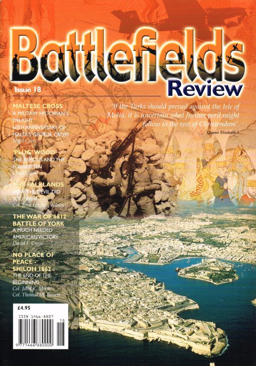 Image for BATTLEFIELDS REVIEW ISSUE NO.18
