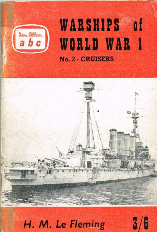 Image for WARSHIPS OF WORLD WAR I : NO.2 - CRUISERS