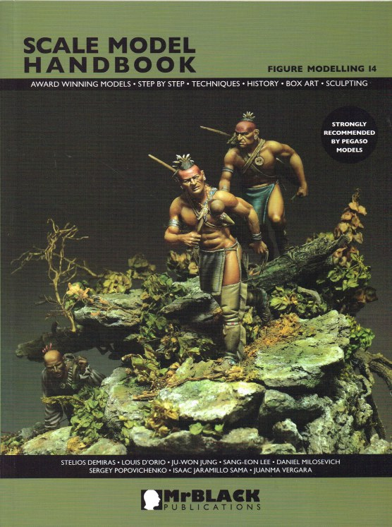 Image for SCALE MODEL HANDBOOK 14: FIGURE MODELLING