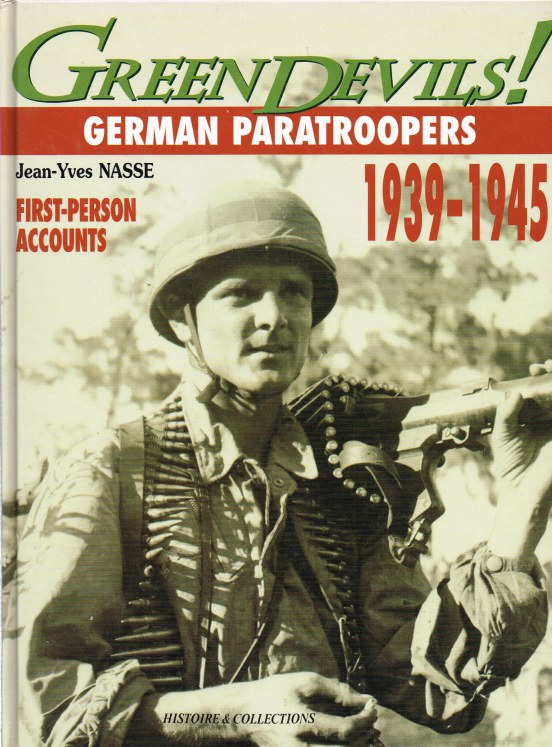 Image for GREEN DEVILS : GERMAN PARATROOPERS 1939-1945