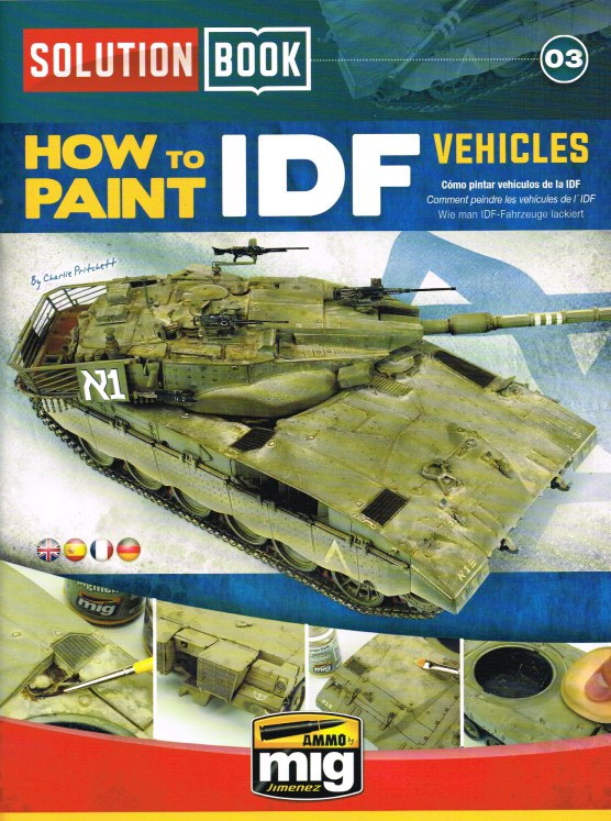 Image for SOLUTION BOOK 03: HOW TO PAINT IDF VEHICLES