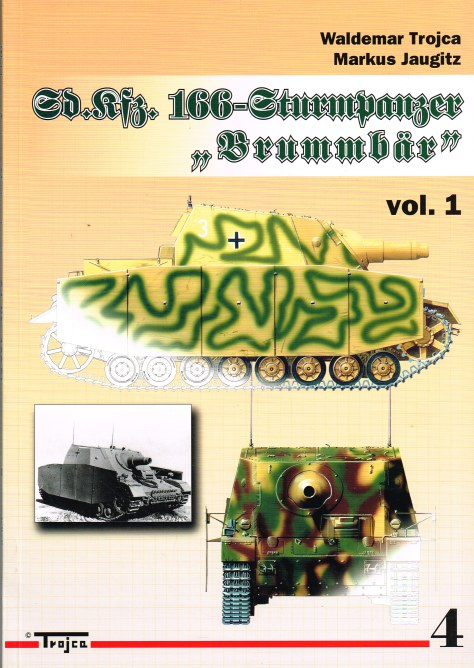 Image for SD.KFZ.166 STURMPANZER BRUMMBAR : VOLUME 1 (POLISH TEXT)