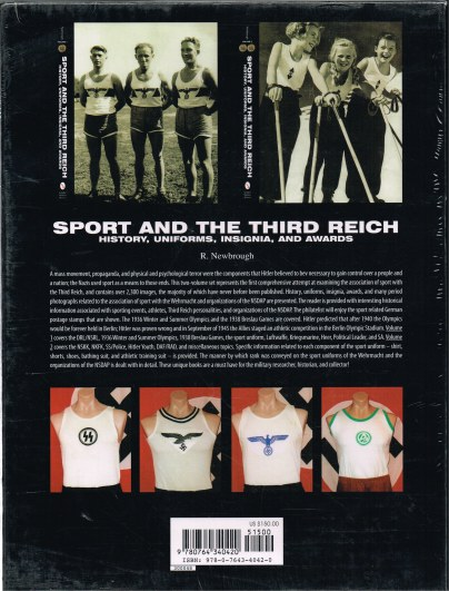 Image for SPORT AND THE THIRD REICH : HISTORY, UNIFORMS, INSIGNIA, AND AWARDS (TWO VOLUME SET IN CARD SLIPCASE)