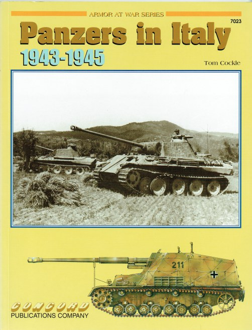 Image for PANZERS IN ITALY 1943-1945