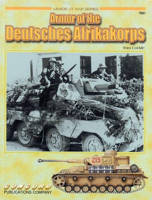 Image for ARMOR OF THE DEUTSCHES AFRIKAKORPS