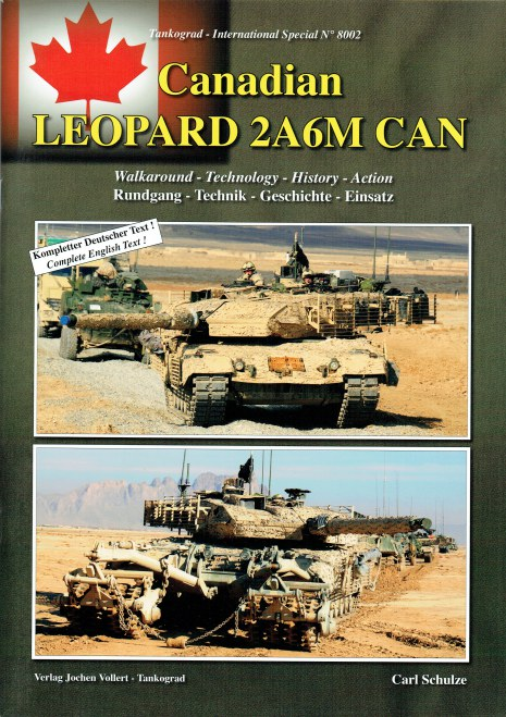 Image for CANADIAN LEOPARD 2A6M CAN : WALKAROUND - TECHNOLOGY - HISTORY - ACTION