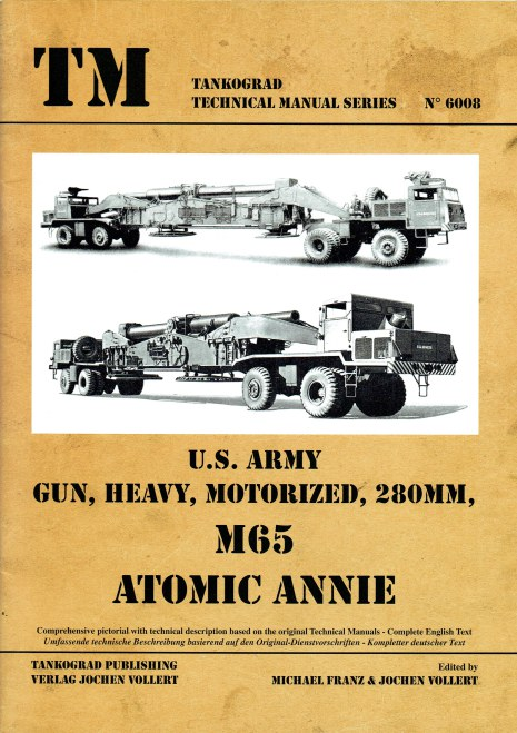 Image for US ARMY GUN, HEAVY, MOTORIZED, 28MM, M65 ATOMIC ANNIE