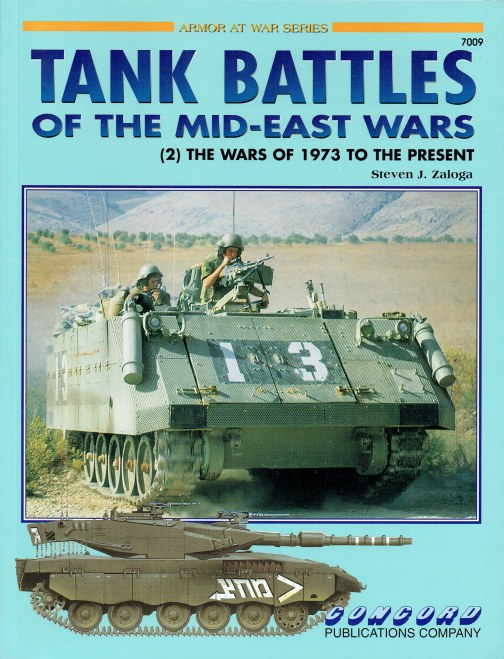 Image for TANK BATTLES OF THE MID-EAST WARS (2) THE WARS OF 1973 TO THE PRESENT