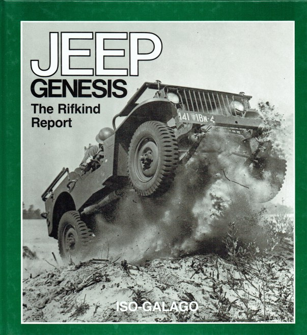 Image for JEEP GENESIS: THE RIFKIND REPORT