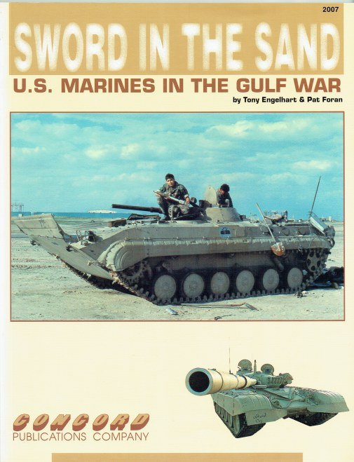 Image for SWORD IN THE SAND : US MARINES IN THE GULF WAR