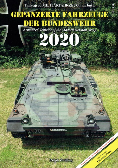 Image for TANKOGRAD MILITARFAHRZEUG JAHRBUCH 2020 : ARMOURED VEHICLES OF THE MODERN GERMAN ARMY