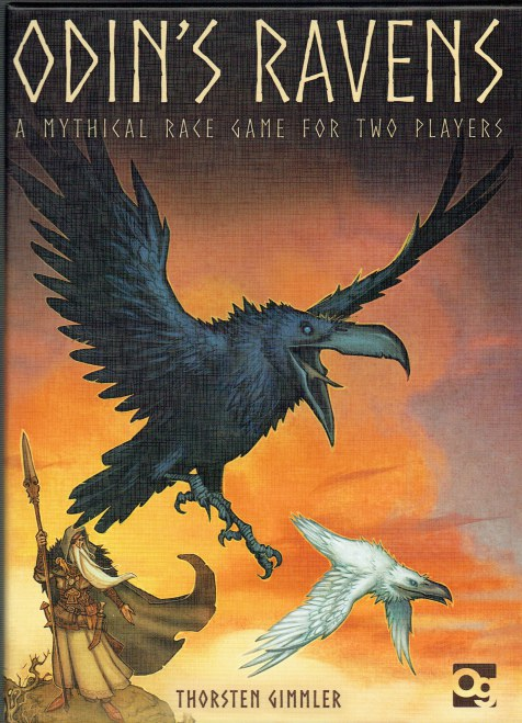 Image for ODIN'S RAVENS : A MYTHICAL RACE GAME FOR TWO PLAYERS (GAME)