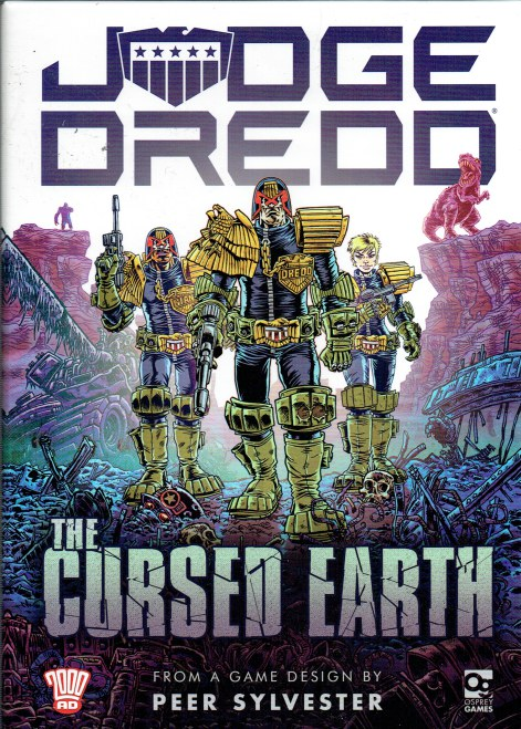 Image for JUDGE DREDD: THE CURSED EARTH - AN EXPEDITION GAME (GAME)