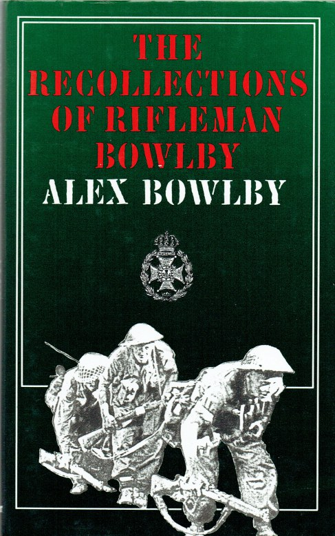 Image for THE RECOLLECTIONS OF RIFLEMAN BOWLBY