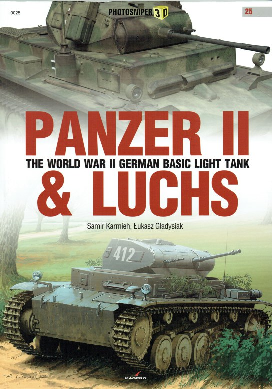 Image for PANZER II & LUCHS : THE WORLD WAR II GERMAN BASIC LIGHT TANK