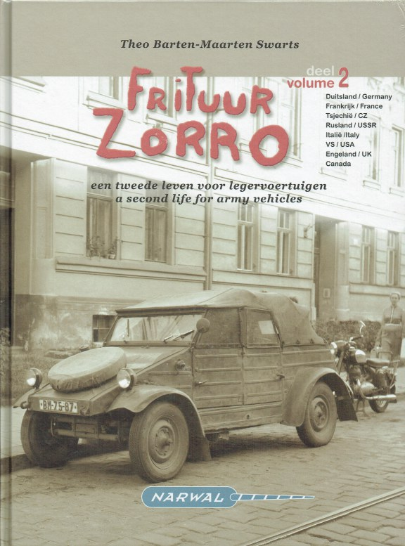 Image for FRITUUR ZORRO VOLUME 2 : A SECOND LIFE FOR ARMY VEHICLES
