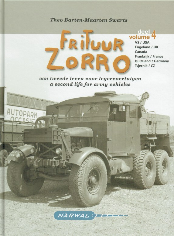 Image for FRITUUR ZORRO VOLUME 4 : A SECOND LIFE FOR ARMY VEHICLES