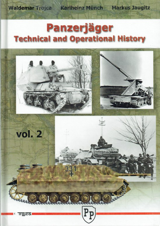 Image for PANZERJAGER TECHNICAL AND OPERATIONAL HISTORY: VOLUME 2