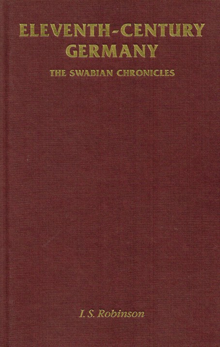 Image for ELEVENTH-CENTURY GERMANY : THE SWABIAN CHRONICLES
