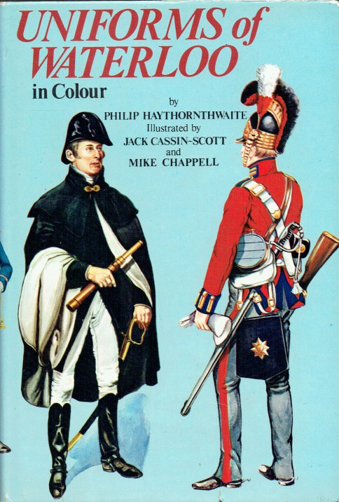 Image for UNIFORMS OF WATERLOO IN COLOUR