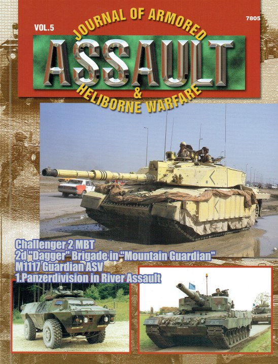 Image for ASSAULT : JOURNAL OF ARMORED & HELIBORNE WARFARE: VOL.5