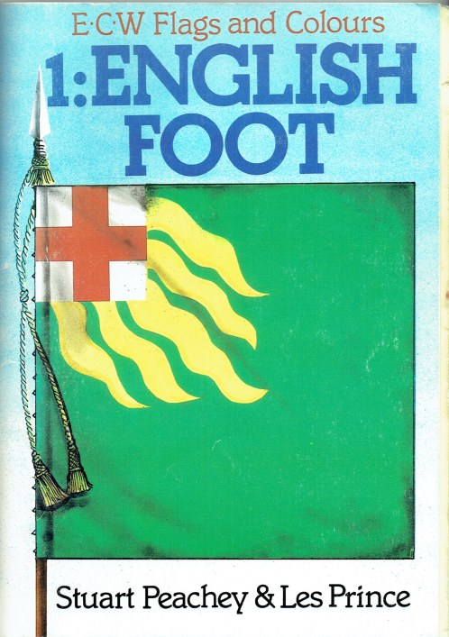 Image for ECW FLAGS AND COLOURS 1: ENGLISH FOOT