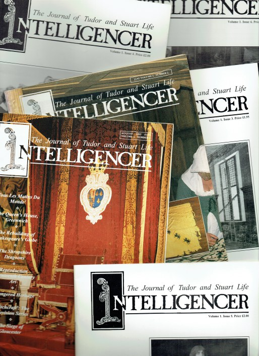 Image for THE INTELLIGENCER : THE JOURNAL OF TUDOR AND STUART LIFE (6 ISSUE SET)