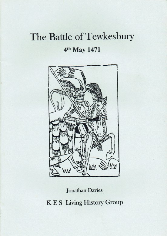Image for THE BATTLE OF TEWKESBURY 4TH MAY 1471