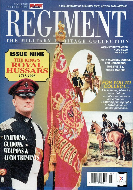 Image for REGIMENT: ISSUE NINE - THE KING'S OWN ROYAL HUSSARS 1715-1995