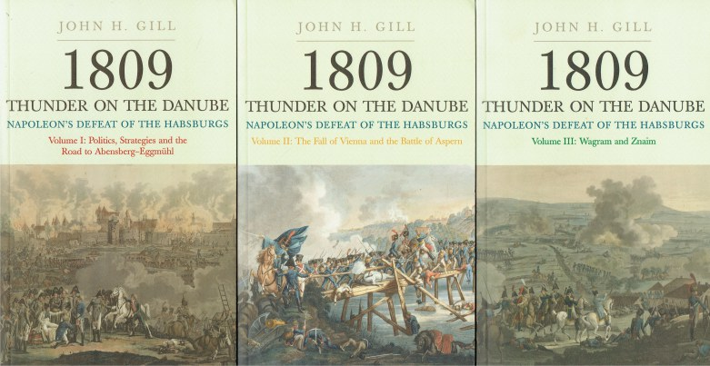Image for 1809 THUNDER ON THE DANUBE : NAPOLEON'S DEFEAT OF THE HABSBURGS (3 VOLUME SET)