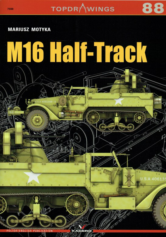 Image for TOPDRAWINGS 88: M16 HALF-TRACK