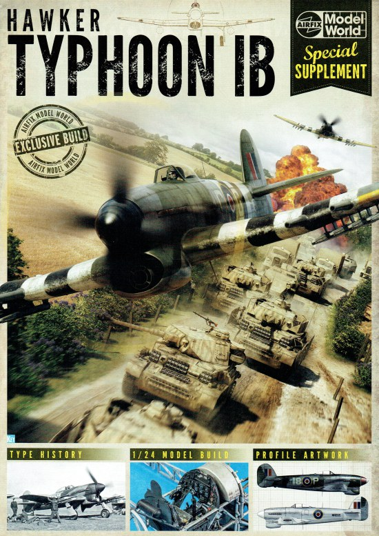 Image for AIRFIX MODEL WORLD SPECIAL SUPPLEMENT: HAWKER TYPHOON IB