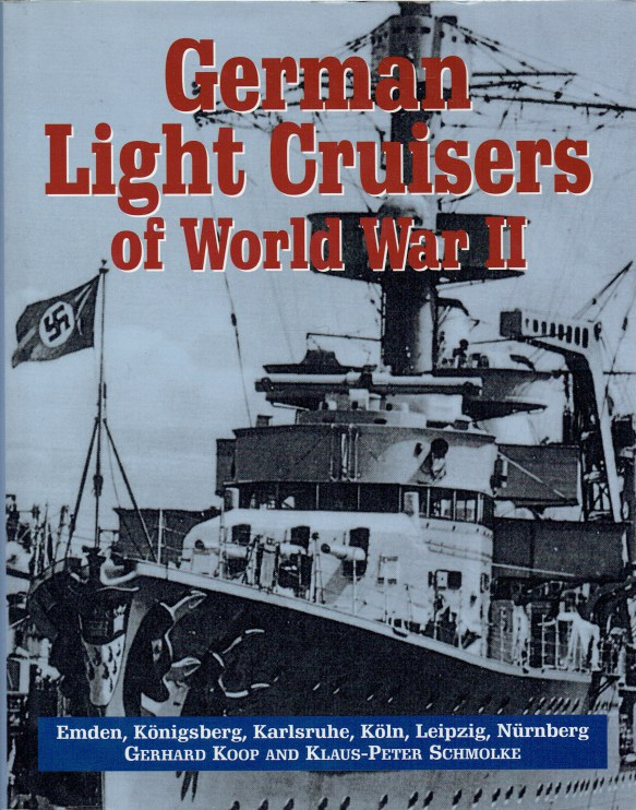 Image for GERMAN LIGHT CRUISERS OF WORLD WAR II