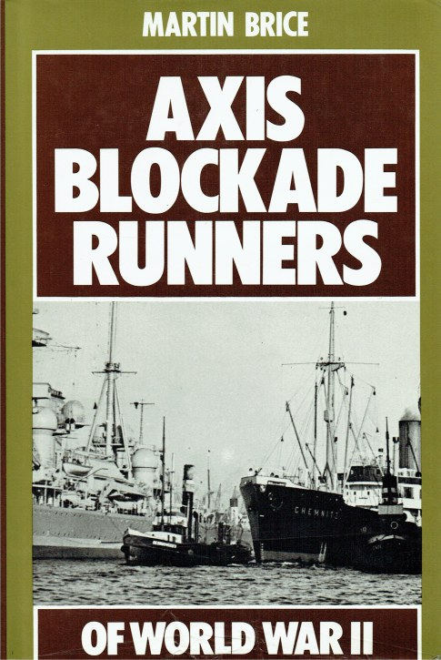 Image for AXIS BLOCKADE RUNNERS OF WORLD WAR II