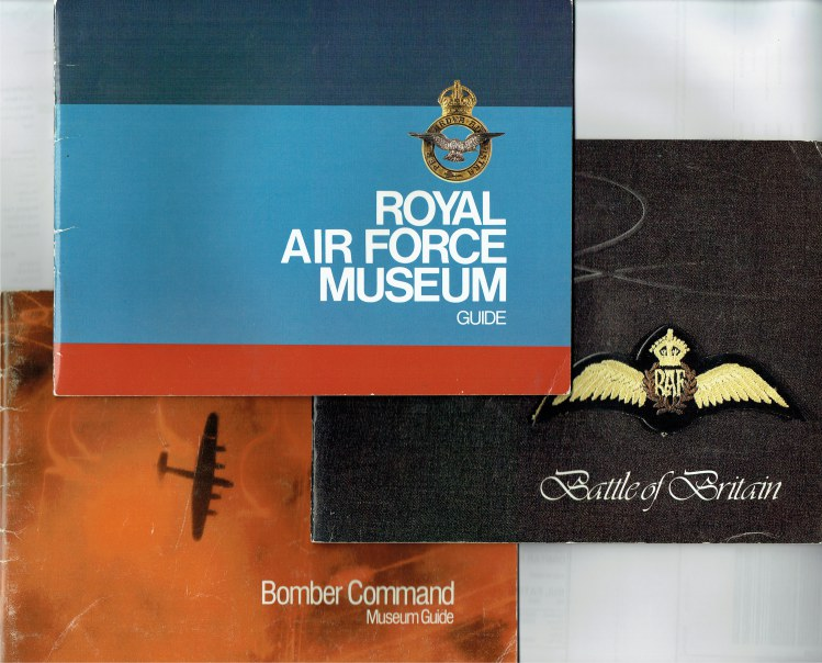 Image for ROYAL AIR FORCE MUSEUM GUIDE + BATTLE OF BRITAIN MUSEUM GUIDE + BOMBER COMMAND MUSEUM GUIDE (THREE BOOKLETS)