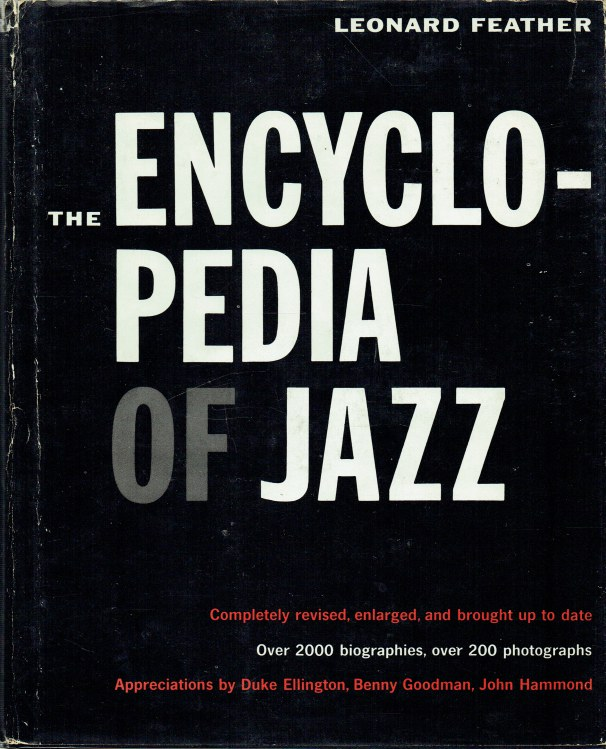 Image for THE ENCYCLOPEDIA OF JAZZ (REVISED EDITION)