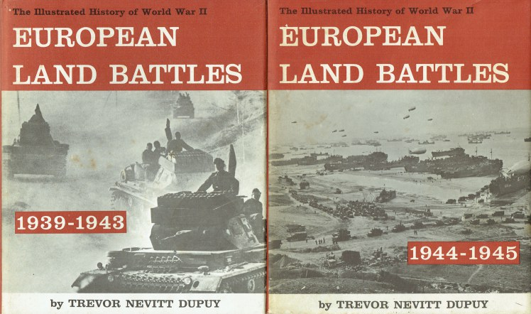 Image for THE ILLUSTRATED HISTORY OF WORLD WAR II : EUROPEAN LAND BATTLES 1939-1945 (TWO VOLUME SET)