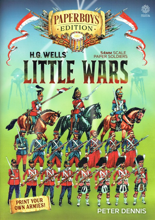 Image for PAPERBOYS EDITION: H.G. WELLS' LITTLE WARS - 54MM SCALE PAPER SOLDIERS