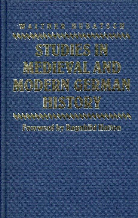 Image for STUDIES IN MEDIEVAL AND MODERN GERMAN HISTORY