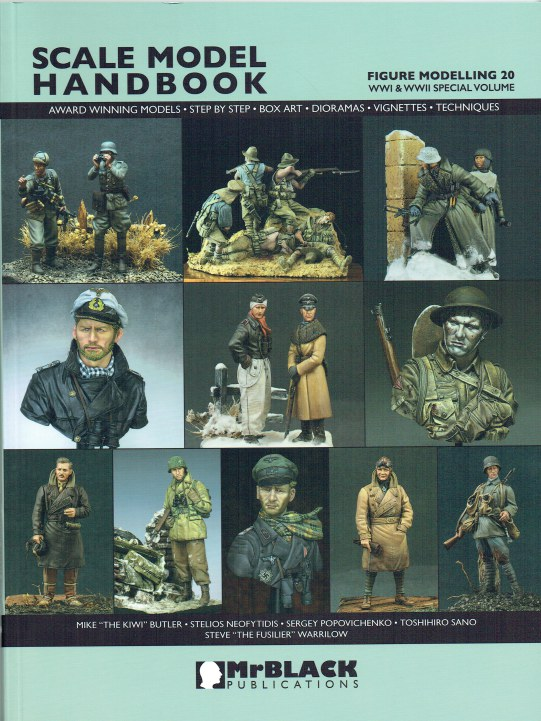 Image for SCALE MODEL HANDBOOK 20: FIGURE MODELLING
