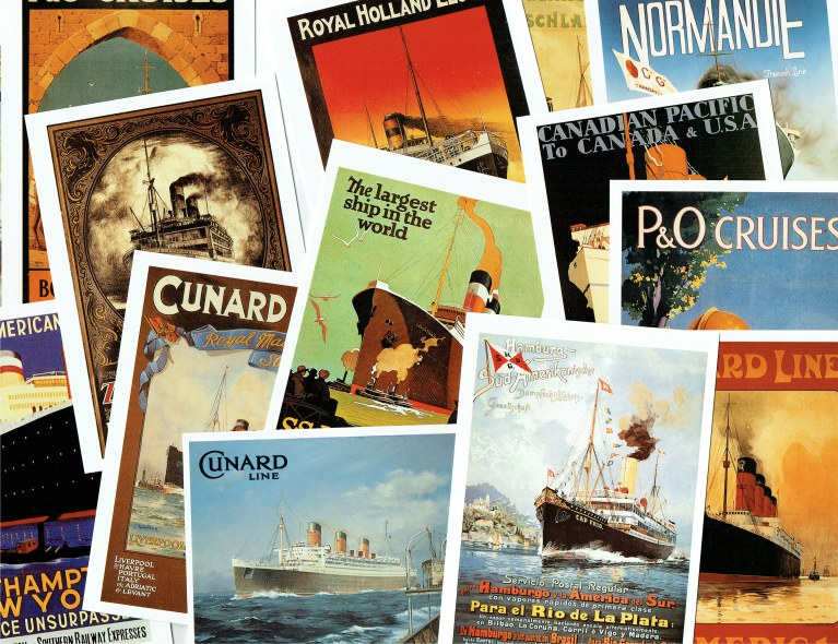 Image for OCEAN LINER MEMORABILIA SERIES 7: WORLD FAMOUS PASSENGER LINES 2 (17 POSTCARDS)