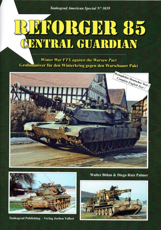Image for REFORGER 85 CENTRAL GUARDIAN : WINTER WAR FTX AGAINST THE WARSAW PACT