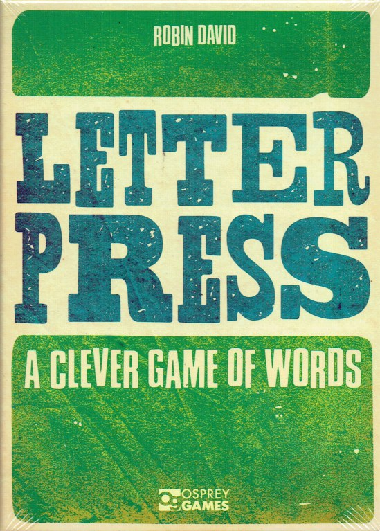 Image for LETTER PRESS : A CLEVER GAME OF WORDS (GAME)