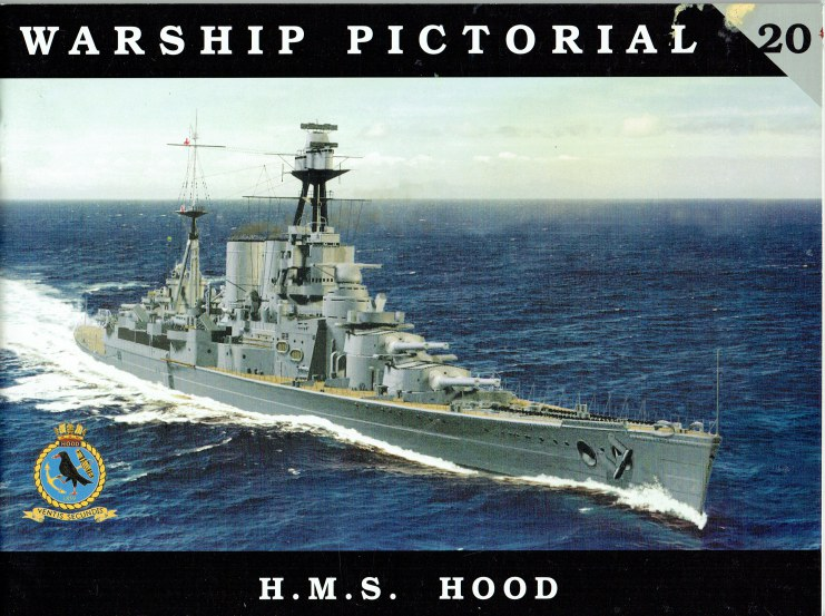 Image for WARSHIP PICTORIAL 20: HMS HOOD