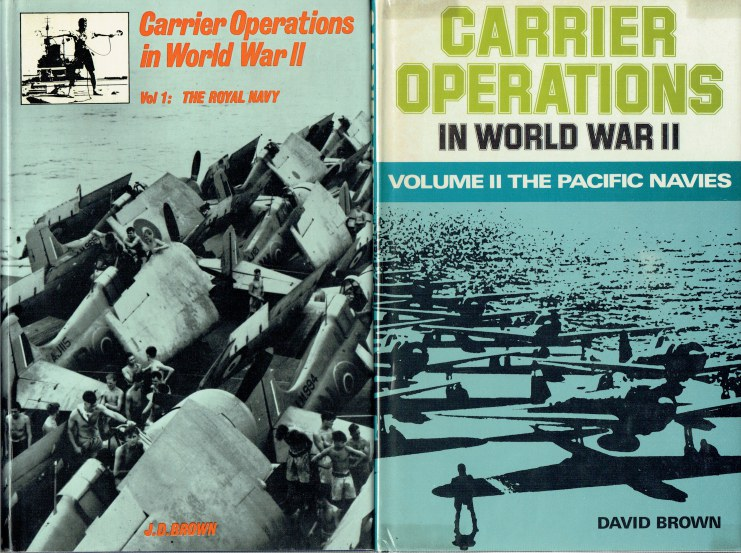 Image for CARRIER OPERATIONS IN WORLD WAR II (TWO VOLUME SET)